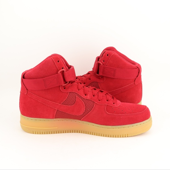 best sneakers d7a76 47aba Nike Air Force 1 High Gym Red Gum. M 5bc561e2d6dc52d6ffda81e9